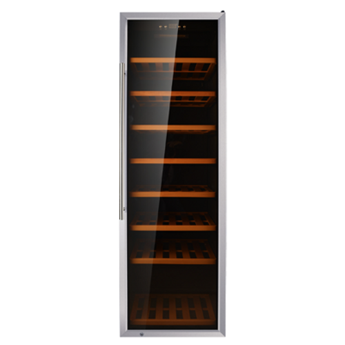 Omcan - Single Zone Wine Cooler With 192 Bottle Capacity And Stainless Steel Door - 45259