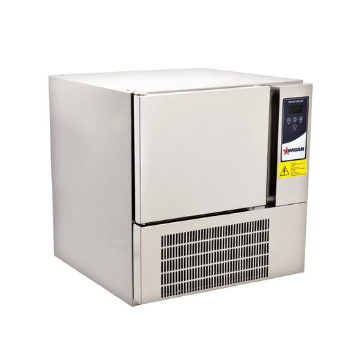 Omcan - 0.84 Hp Blast Chiller (Fits 3 Trays) - 41899