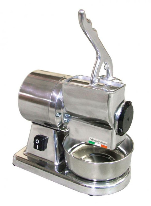 Omcan - European Stainless Steel Cheese Grater With 0.5 Hp Motor - 11401