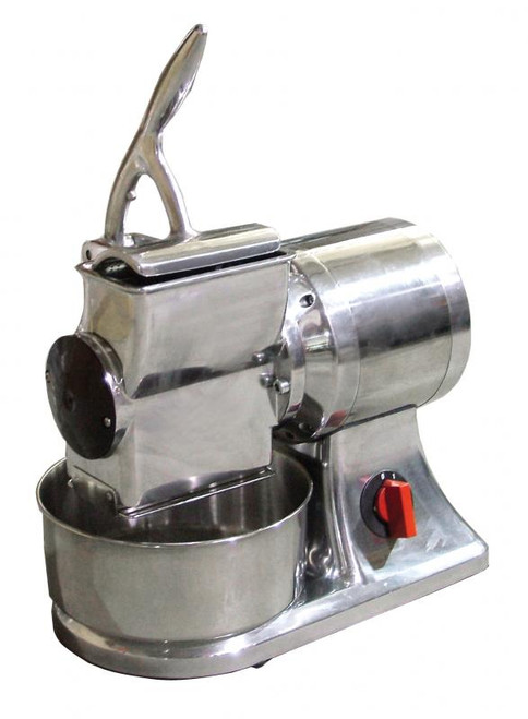 Omcan - Stainless Steel Cheese Grater With 1 Hp Motor - 11402