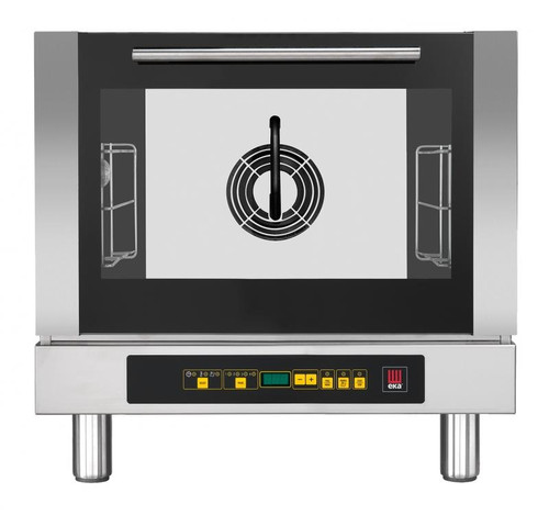 Omcan - Countertop Electric Convection Oven With 3 Shelves Capacity And Steam Injection - 43317