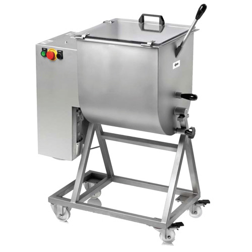 Omcan - Heavy-Duty Meat Mixer With 1.5 Hp Motor And 50-Kg / 110-Lb Capacity - 13159
