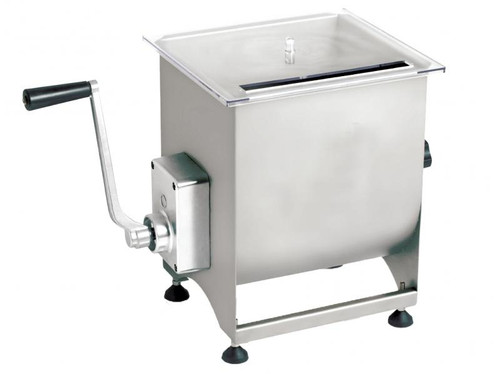 Omcan - Manual Non-Tilting Mixer With 44-Lb. / 7-Gallon Tank Capacity - 13157