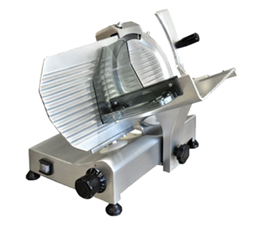 """Omcan - 10"""" Blade Slicer With Compact Body With 0.25 Hp Motor - 13623"""