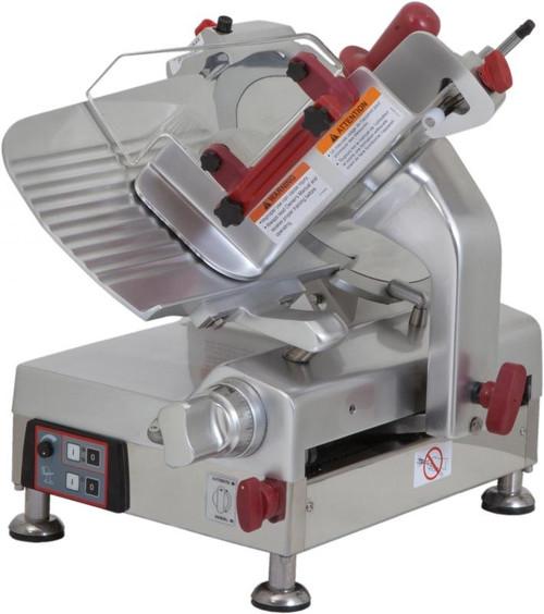 "Omcan - 12"" Belt-Driven Automatic Slicer - 13654"