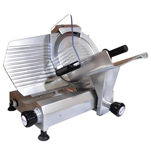 """Omcan - 12"""" Elite Belt-Driven Meat Slicer - 31344"""