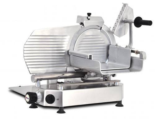 "Omcan - 12"" Horizontal Belt-Driven Meat Slicer - 46162"