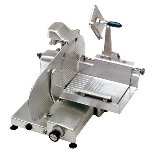 """Omcan - 12"""" H-Series Horizontal Gear-Driven Meat Slicer - 13655"""