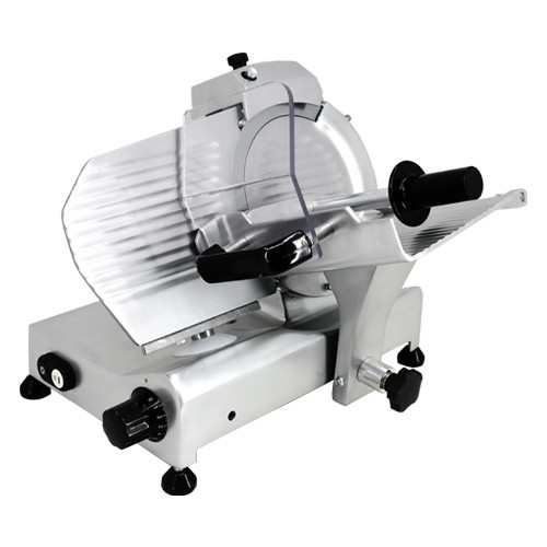 "Omcan - 9"" Belt-Driven Meat Slicer - 31342"