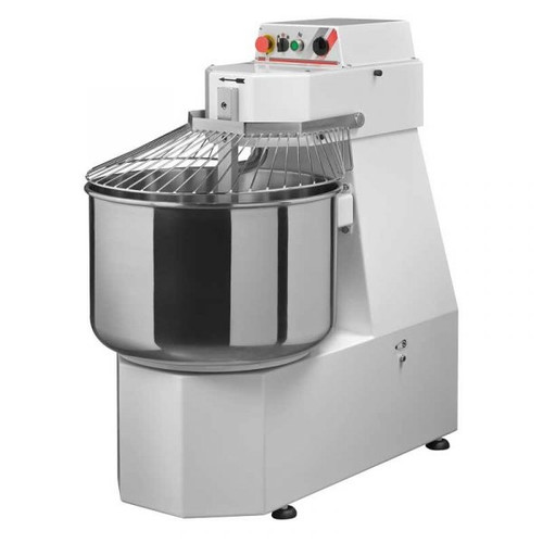 Omcan - Heavy-Duty Spiral Dough Mixer With 110 Lb. Capacity - 13173