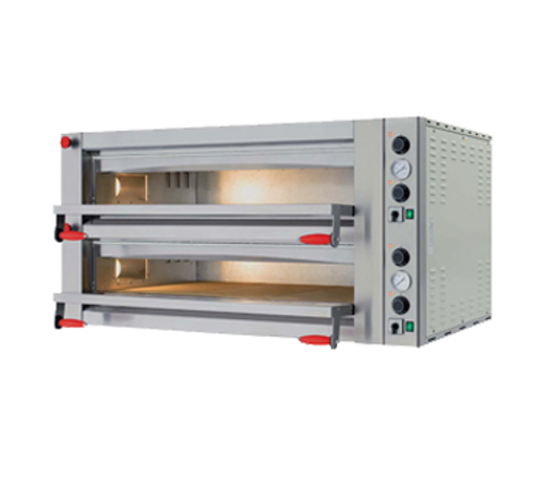 Omcan - Double Chamber Pyralis Series With 13.2 Kw Power And Mechanical Display - 40638