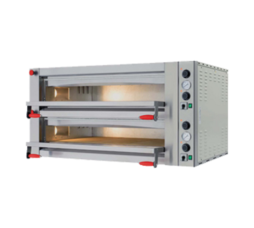 Omcan - Double Chamber Pyralis Series With 18 Kw Power And Mechanical Display - 40641