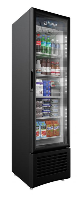 "Omcan - 19"" One-Swing Door Refrigeration With 7.7 Cu.Ft. Capacity - 41215"