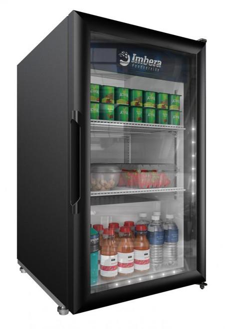 "Omcan - 21.25"" One-Swing Door Refrigeration With 5 Cu.Ft. Capacity - 41214"