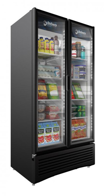 """Omcan - 39.5"""" Two-Swing Door Refrigeration With 26 Cu.Ft. Capacity - 41219"""