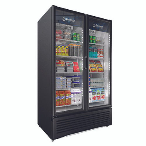 """Omcan - 47"""" Two-Swing Door Refrigeration With 37 Cu.Ft. Capacity - 42862"""