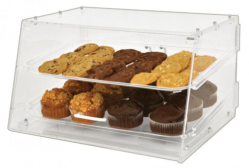 Omcan - Acrylic Display Case With 2 Trays - 80567