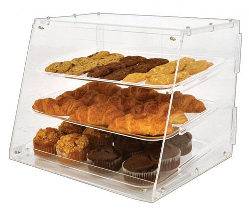 Omcan - Acrylic Display Case With 3 Trays - 80568
