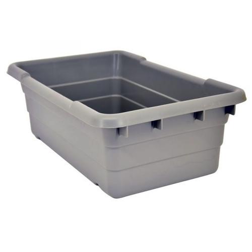Omcan - Gray Meat Lug Tote Box - 10936