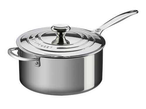 Le Creuset - 5.2 L (6 QT) Stainless Steel Casserole with Lid