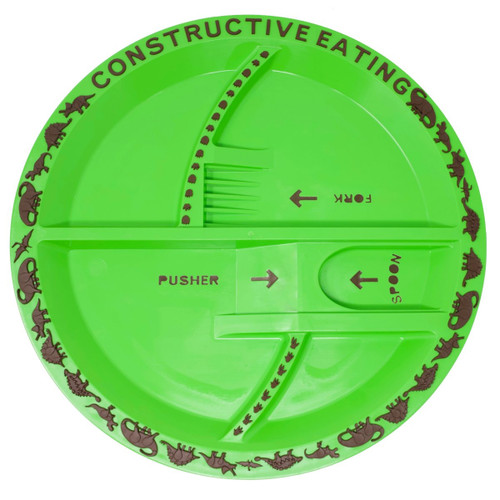 Constructive Eating - Dino Plate - 74000