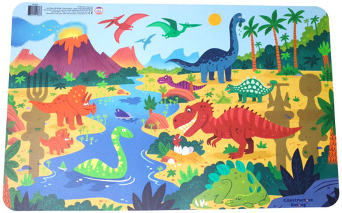 Constructive Eating - Dino Placemat - 43001