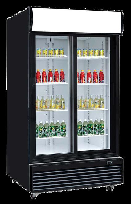 """Williams Food Equipment - 40"""" Glass Door Refrigerator - NGR-40-S"""