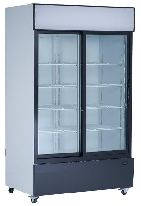 """Williams Food Equipment - 48"""" Glass Door Refrigerator - NGR-48-S"""