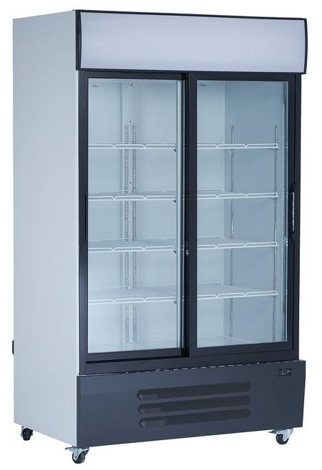 Williams Food Equipment - Double Glass Door Refrigerator - NGR-115-S