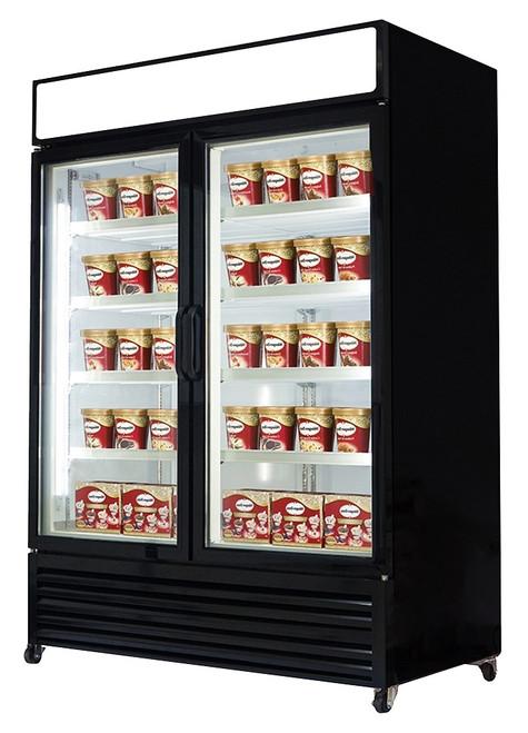 Williams Food Equipment - Double Glass Door Freezer - NGF-122-H