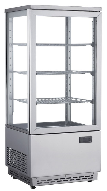 Williams Food Equipment - 17'' Countertop Display Case  - NDC-078-SS