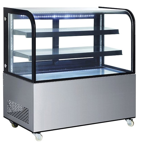 Williams Food Equipment - Curved Glass Display Case - NDC-014-CG