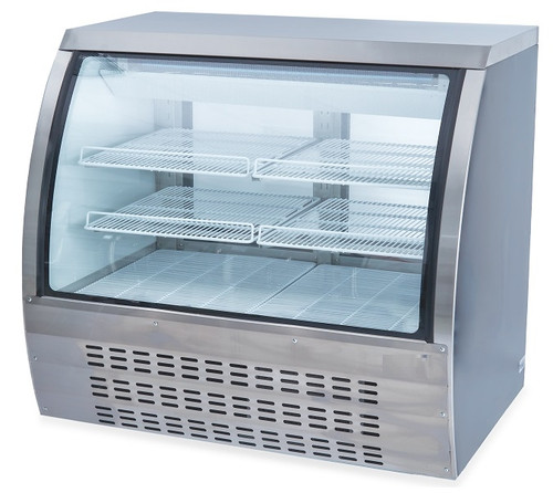 Williams Food Equipment - Curved Glass Display Case - NDC-018-CG