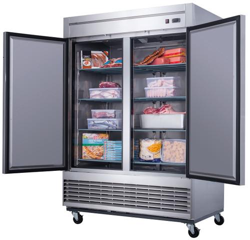 Williams Food Equipment - 2 Door Stainless Steel Freezer - NSF-115-H