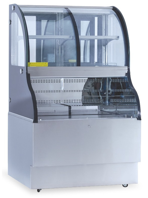 "Williams Food Equipment - 36"" Dual Temperature Combination Case - NCC-36-SS"