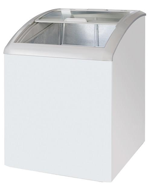 "Williams Food Equipment - 24"" Curved Glass Ice Cream Freezer - NIF-24-CG"
