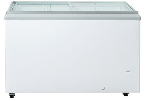 "Williams Food Equipment - 50"" Flat Glass Ice Cream Freezer - NIF-50-FG"