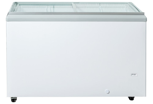 "Williams Food Equipment - 60"" Flat Glass Ice Cream Freezer - NIF-60-FG"