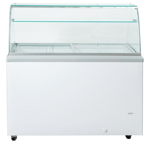 "Williams Food Equipment - 60"" Ice Cream Freezer Dipping Cabinet - NIF-60-DC"