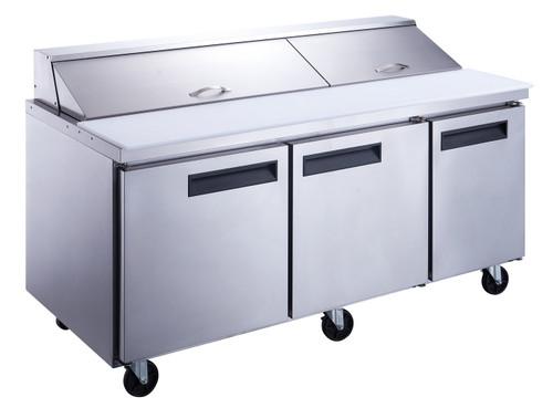 Williams Food Equipment - 72'' Sandwich / Salad Prep Table  - NPT-072-SA