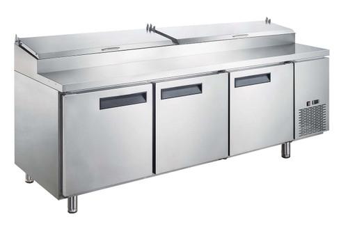 "Williams Food Equipment - 90"" Pizza Prep Table  - NPT-090-PI"