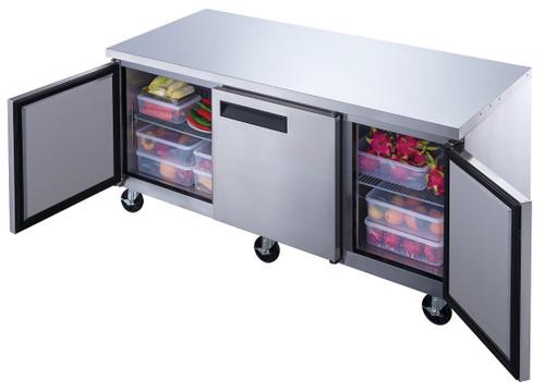Williams Food Equipment - 72'' Undercounter Refrigerator - NUR-072-SS