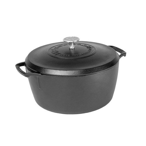 Lodge - Black Lock 5.5 Qt Cast Iron Dutch Oven - BL02DO