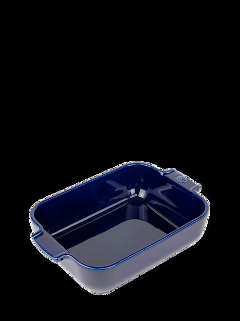 Peugeot - Appolia Blue 1.5 Qt Rectangular Ceramic Baker - 60114