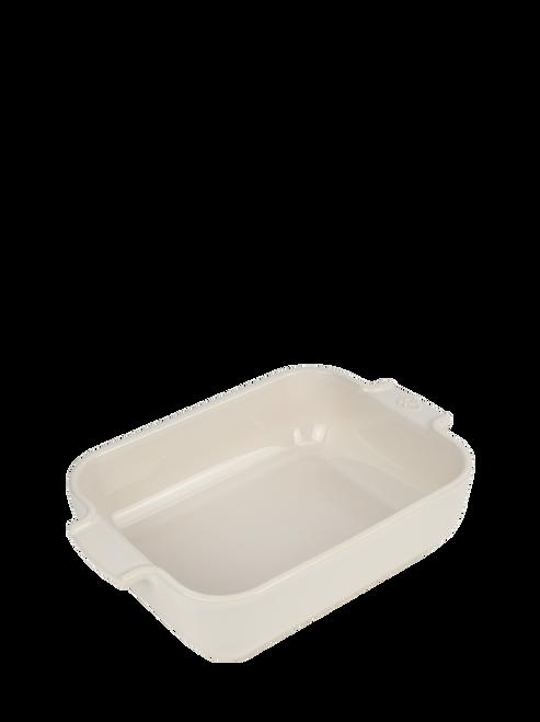 Peugeot - Appolia Ecru 1.5 Qt Rectangular Ceramic Baker - 60084