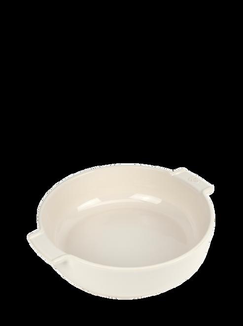 "Peugeot - Appolia Ecru 10.6"" Round Ceramic Baker - 60282"