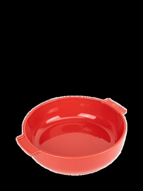 "Peugeot - Appolia Red 10.6"" Round Ceramic Baker - 60299"