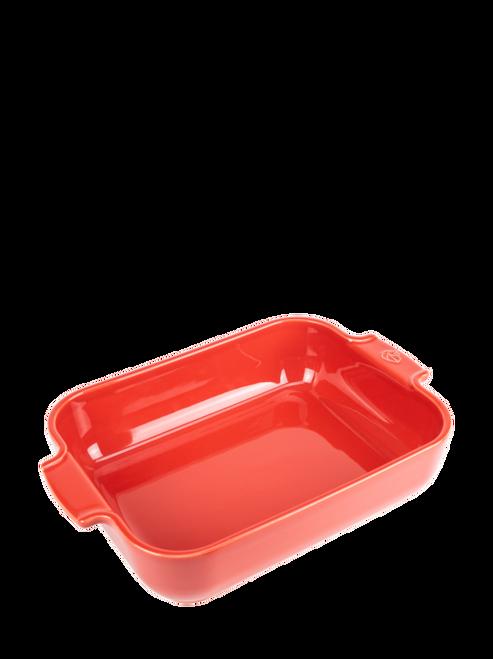Peugeot - Appolia Red 3 QT Rectangular Ceramic Baker - 60053