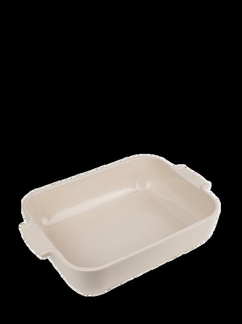 Peugeot - Appolia Ecru 3 QT Rectangular Ceramic Baker - 60046