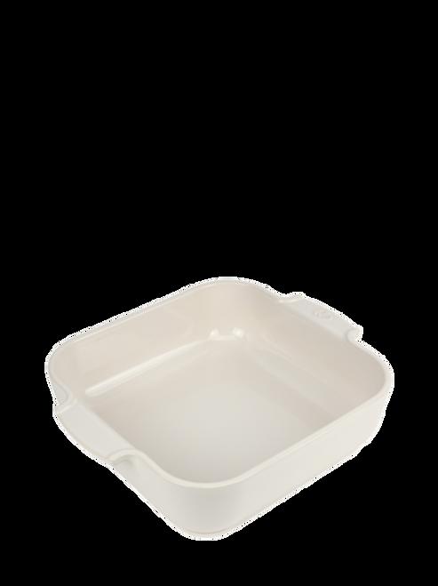 Peugeot - Appolia Ecru 3 QT Square Ceramic Baker - 60169